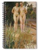 Two Friends  Spiral Notebook