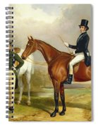 Two Gentlemen Out Hunting  Spiral Notebook