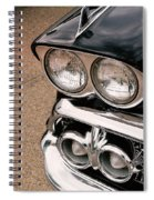 Two Headlights Spiral Notebook