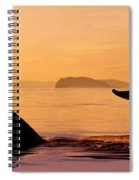 Two Humpback Whales Spiral Notebook
