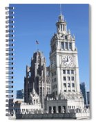 Two Icons Spiral Notebook