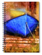 Two Idle Boats Spiral Notebook