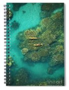 Two Kayakers Spiral Notebook