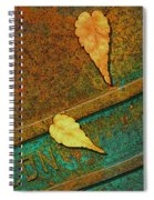 Two Leaves Or Not Two Leaves Spiral Notebook