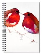 Two Little Birds Spiral Notebook