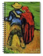 Two Lovers  Spiral Notebook