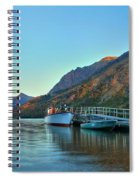 Two Medicine Boat Dock Spiral Notebook