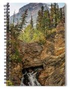 Two Medicine Falls Spiral Notebook