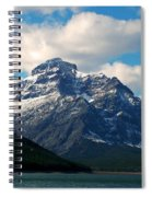 Two Medicine Lake And Rising Wolf Mountain Spiral Notebook