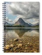 Two Medicine Lake Spiral Notebook