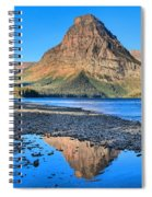 Two Medicine Reflections Spiral Notebook