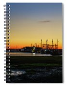 Two Mile Landing At Sunrise - Wildwood Crest New Jersey Spiral Notebook