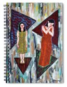 Two Minds In One Spiral Notebook