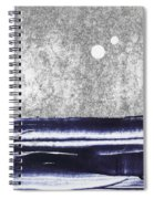 Two Moons Spiral Notebook