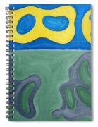 Two Nudes On Beach Spiral Notebook