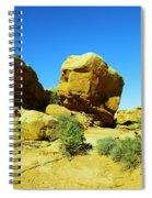 Two Orange Rocks Spiral Notebook