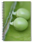Two Peas In A Pod Spiral Notebook