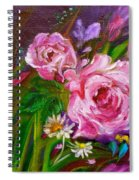 Two Pinks Jenny Lee Discount Spiral Notebook