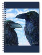 Two Ravens Spiral Notebook