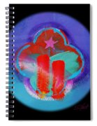 Two Red Towers Spiral Notebook