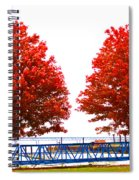 Two Red Trees Spiral Notebook