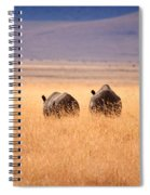 Two Rhino's Spiral Notebook