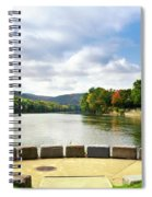 Two Rivers Confluence Park Spiral Notebook