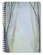 Two Roads I Spiral Notebook