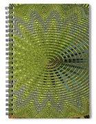 Two Saguaro Abstract #4496w3 Spiral Notebook