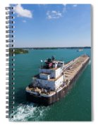Two Ships Passing Spiral Notebook