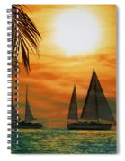 Two Ships Passing In The Night Spiral Notebook