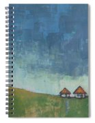 Two Sisters Houses Spiral Notebook