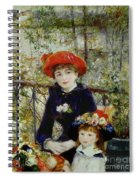 Two Sisters Spiral Notebook