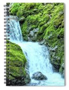 Two Steps Down Spiral Notebook