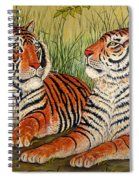 Two Tigers Spiral Notebook