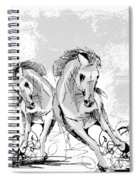 Taking Two To Tango Spiral Notebook