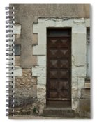 Two Windows And A Door Spiral Notebook