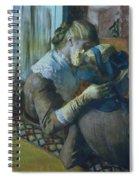 Two Women Spiral Notebook