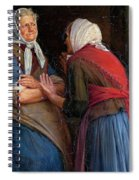 Two Women Talking Spiral Notebook