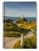 Twr Mawr Lighthouse Spiral Notebook