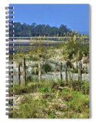Tybee Island Inlet Spiral Notebook