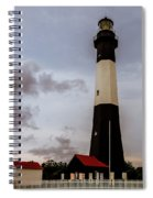 Tybee Island Lighthouse - Square Format Spiral Notebook