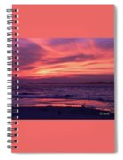 Tybee Island Sunset Spiral Notebook