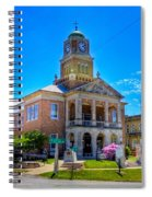 Tyler County Courthouse Spiral Notebook