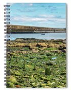 Tynemouth Pier Landscape In Color 2 Spiral Notebook