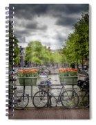 Typical Amsterdam Spiral Notebook