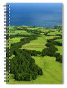 Typical Azores Islands Landscape Spiral Notebook