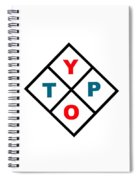 Typo Spiral Notebook