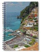 Tyrrhenian Sea Amalfi Coast Spiral Notebook