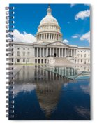 U S Capitol East Front Spiral Notebook
